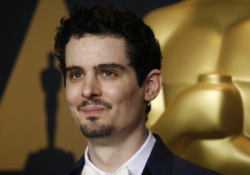 Damien Chazelle durante cerimônia do Oscar / Lucas Jackson/Reuters