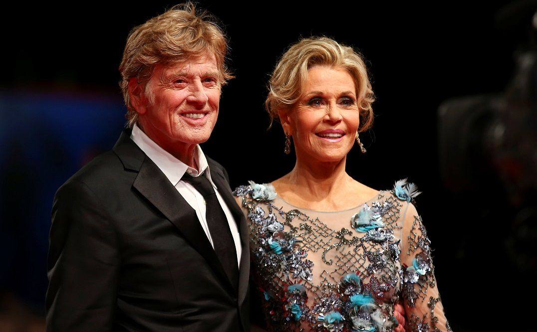 Jane Fonda fala sobre cenas de sexo com Robert Redford