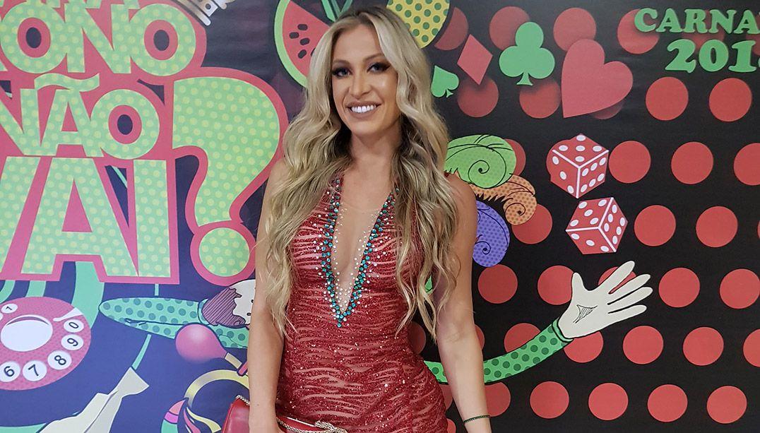 Namorada de Latino será musa da Grande Rio no Carnaval 2018