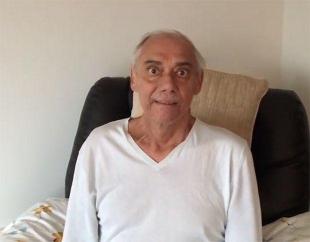 O câncer é como uma montanha-russa, diz Marcelo Rezende em vídeo
