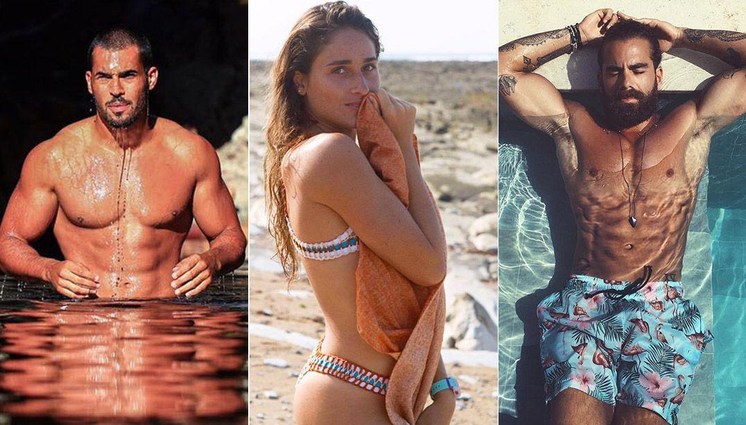 Rodrigo, Michelle e Ricardo reforçam time de famosos / Maufadul e Divulgação/Instagram