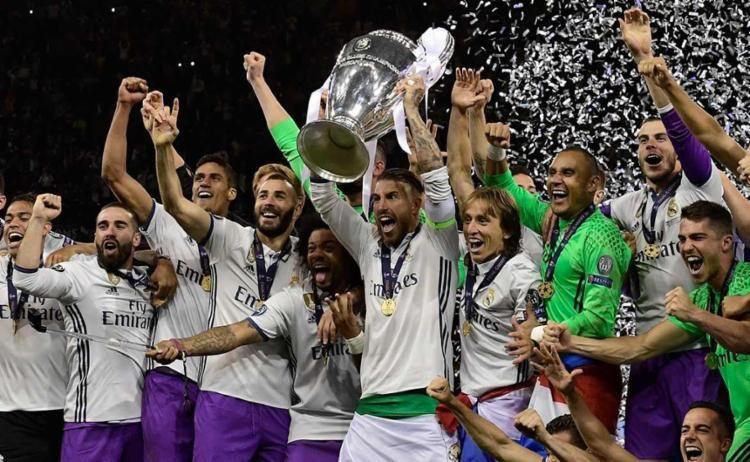 Real Madrid foi o campeão da última edição da Liga dos Cameões  / Javier Soriano - AFP