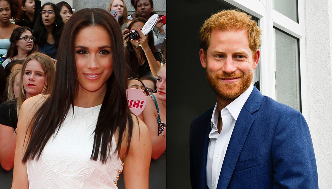 Meghan Markle, namorada do príncipe Harry, reclama do assédio