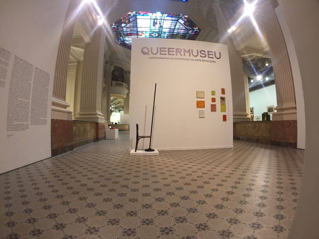 A exposição foi retirada no domingo, 10 / Divulgação/Santander Cultural