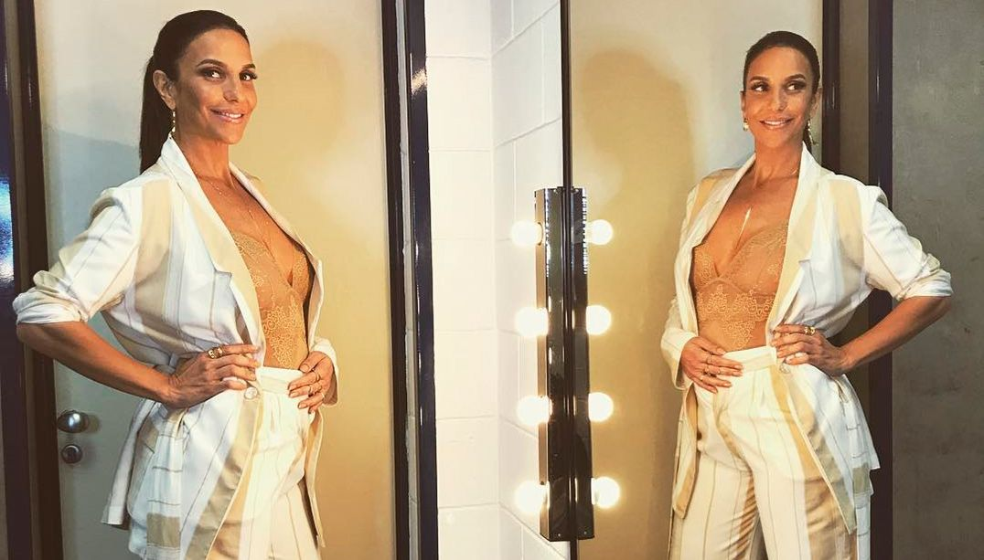 Ivete Sangalo está grávida de gêmeos