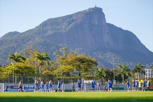 Tricolor está desde quinta-feira passada treinando no Rio de Janeiro / Lucas Uebel / Grêmio