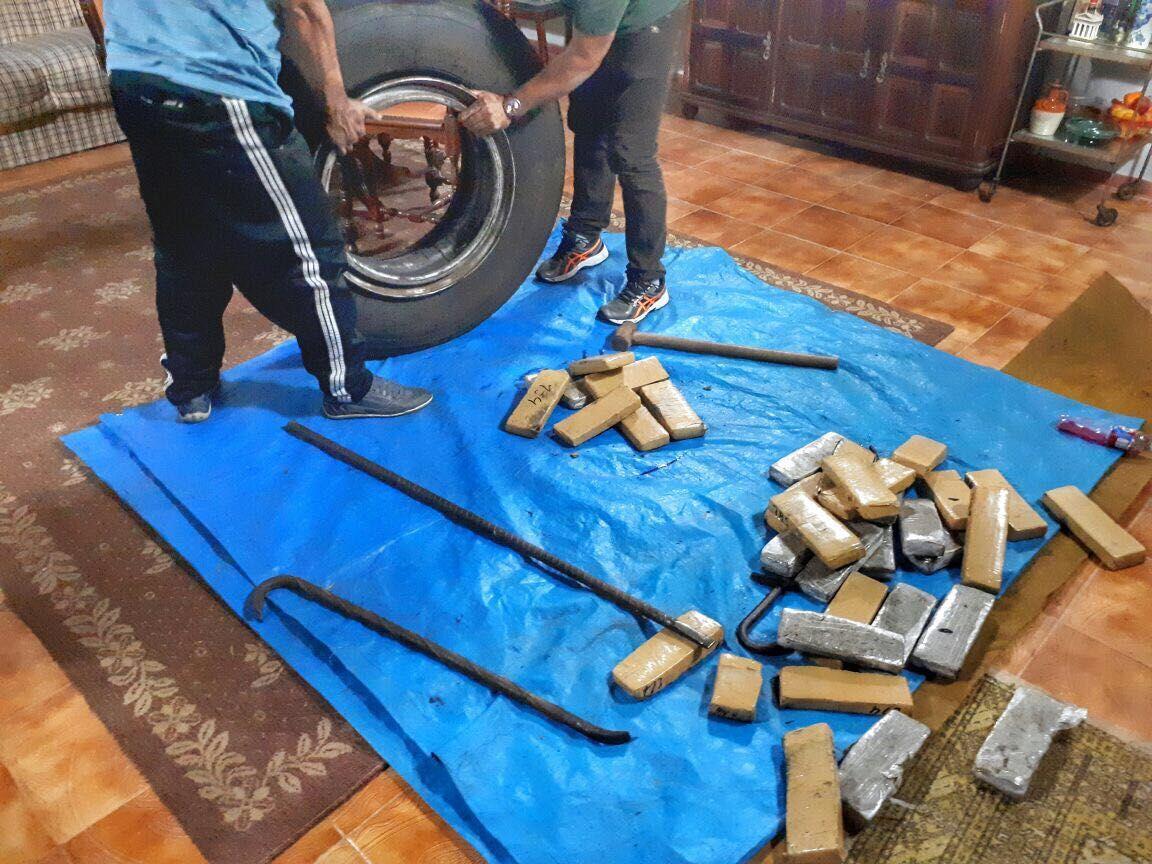 Os criminosos chegavam a movimentar meia tonelada da droga por mês / Polícia Civil / Divulgação