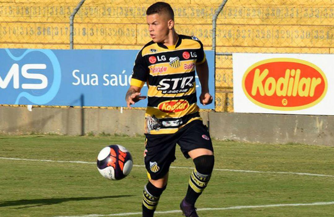 Rodrigo apareceu com destaque no Grêmio Novorizontino / Divulgação