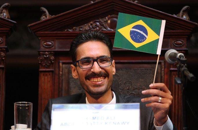 Mohamed Ali Kenwy foi vítima de Xenofobia em Copacabana / (Foto: Thiago Lontra/ALERJ)