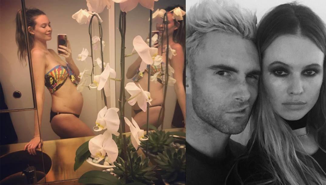 Adam Levine será pai novamente