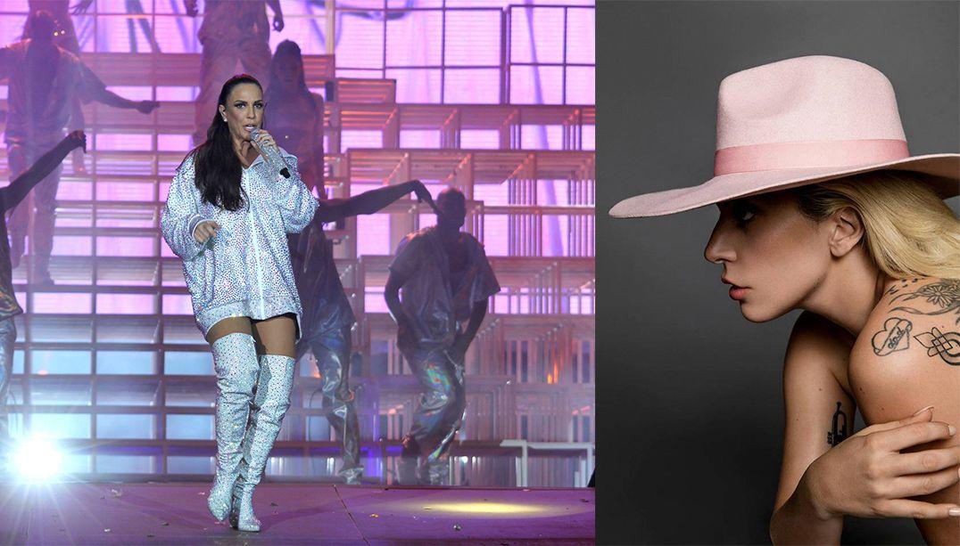 Ivete Sangalo defende ausência de Lady Gaga no RIR