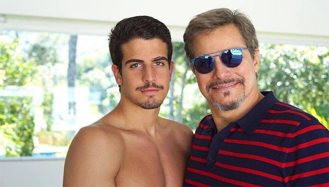 Enzo Celulari brinca sobre semelhança com o pai