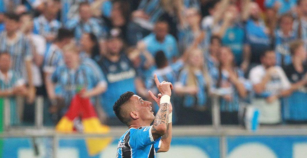 Barrios marca e classifica o Grêmio na Libertadores