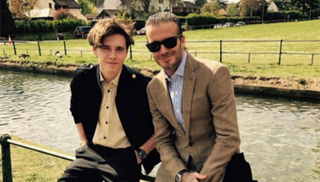 Filho de Beckham reclama de assédio na faculdade
