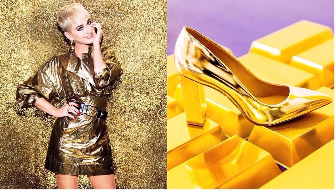 Katy Perry expande sua linha de sapatos
