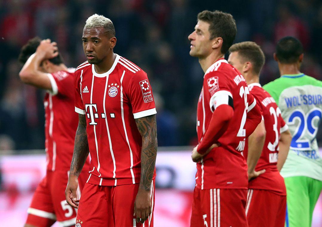 Bayern abre 2 a 0, mas goleiro falha e Wolfsburg arranca empate