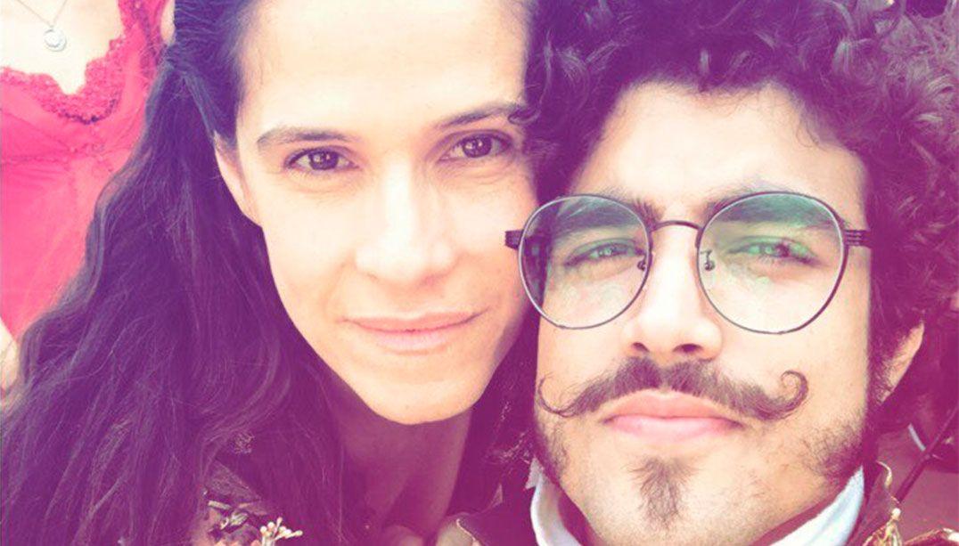 Inimigos, Ingrid Guimarães e Caio Castro selam a paz