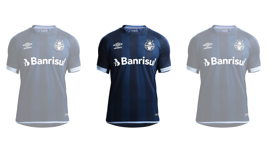 Grêmio apresenta novo uniforme - Band.com.br 6e15471c03cec