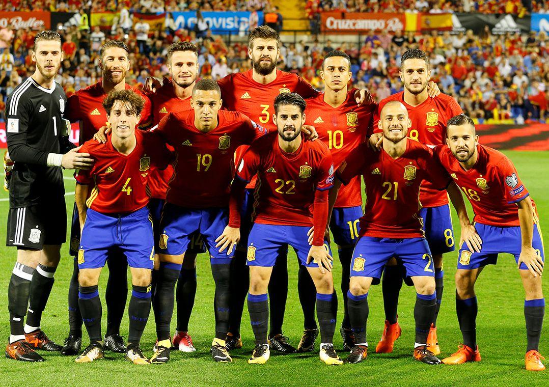 Espanha é a 11ª classificada para a Copa  veja a lista - Band.com.br b1bf1a25d19d8