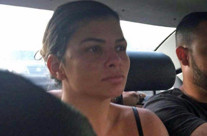 Danúbia estava escondida desde setembro, quando foi expulsa da Rocinha pelo traficante Rogério 157 / (Foto: Reprodução )