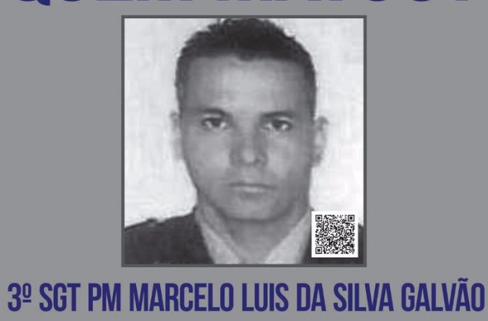 O Disque Denúncia divulgou um cartaz com pedido de informações sobre os autores da morte do militar. / (Foto: Divulgação)