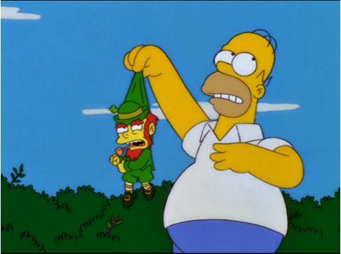 Homer sempre arruma uma confusão / Divulgação