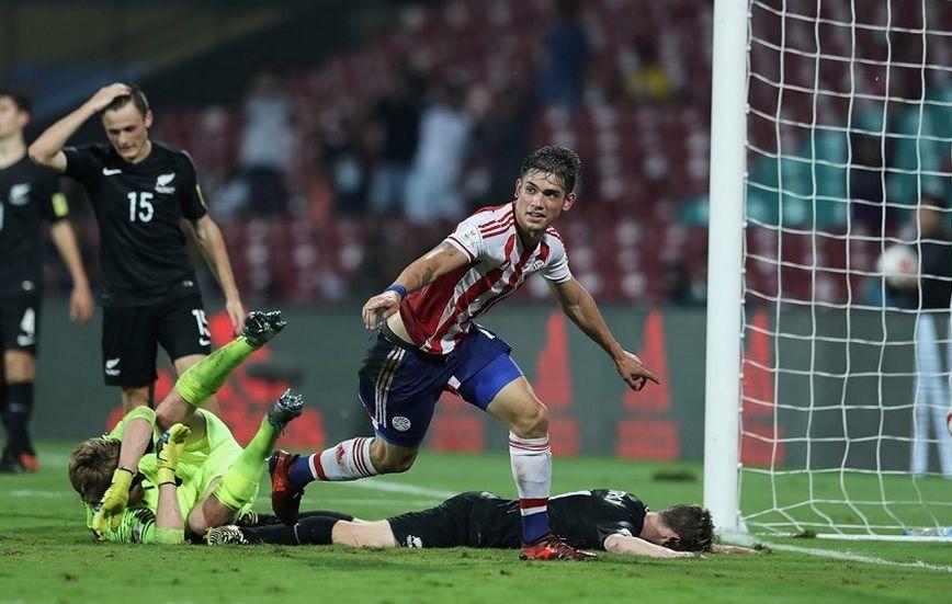 O Paraguai é o primeiro colocado do Grupo B e já está garantido nas oitavas de final / Divulgação - FIFA
