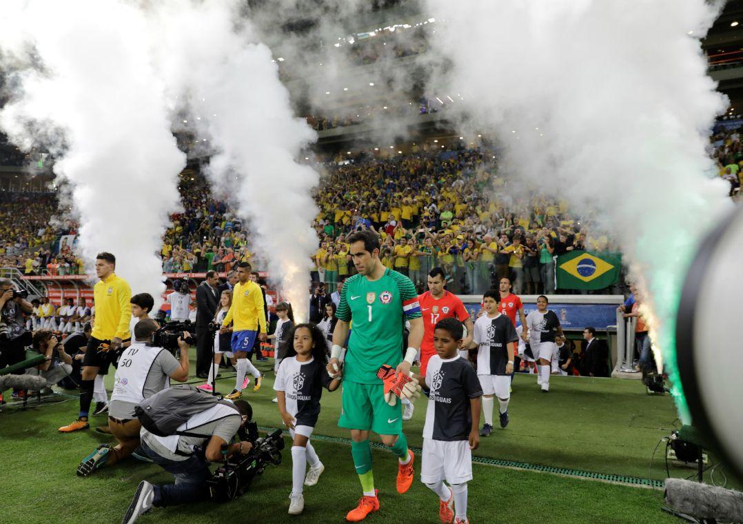 Seleção Brasileira enfrentou o Chile no Allianz Parque / Paulo Whitaker/Reuters
