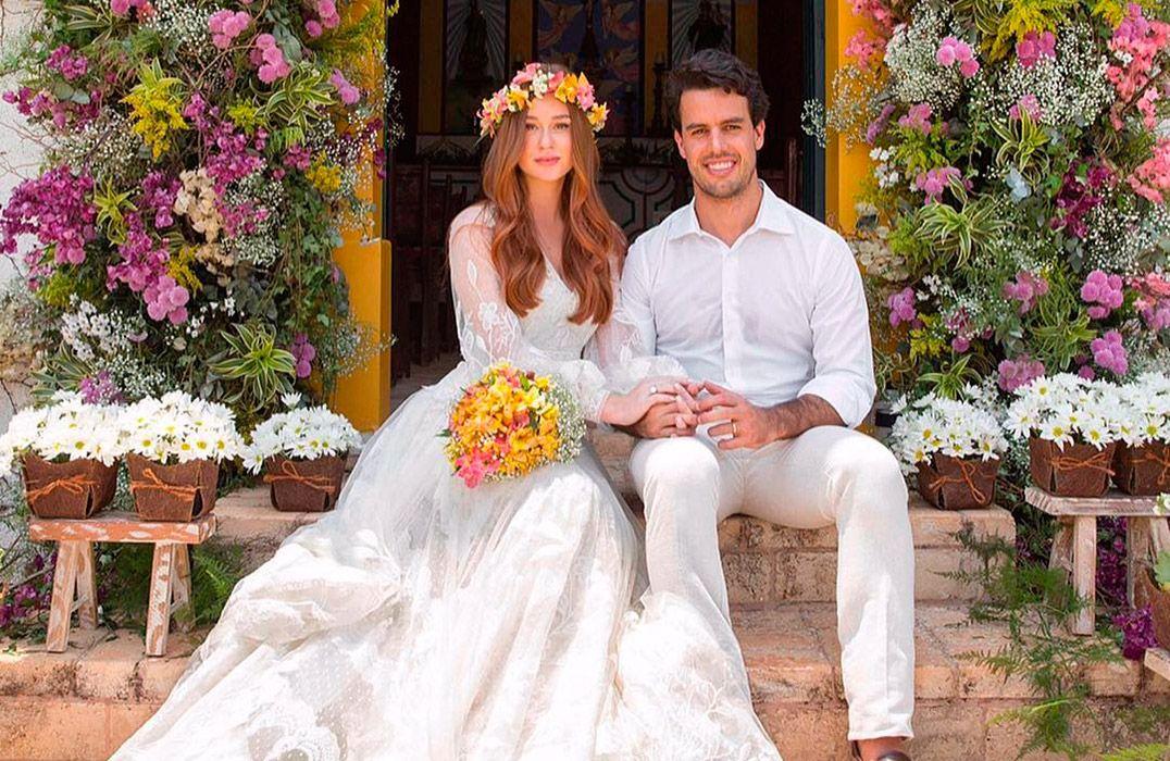 Marina Ruy Barbosa e Xandinho Negrão estão casados / Divulgação/Primefotocinema/Instagram
