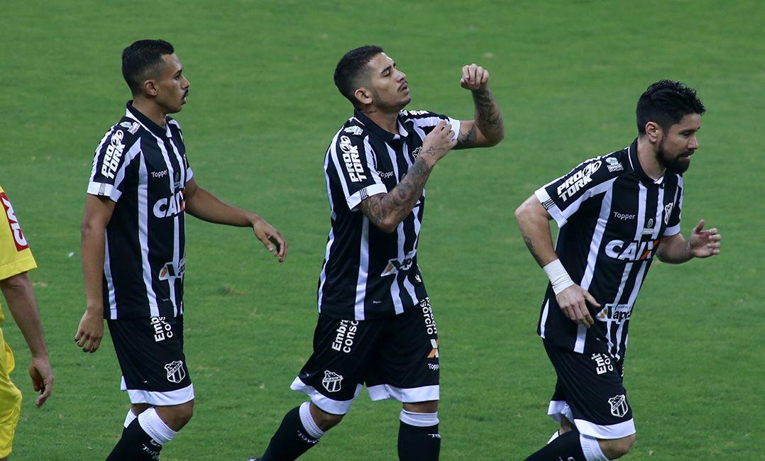 Ceará bate Paraná e assume 3ª posição da Série B - Band.com.br 170551f303cbb