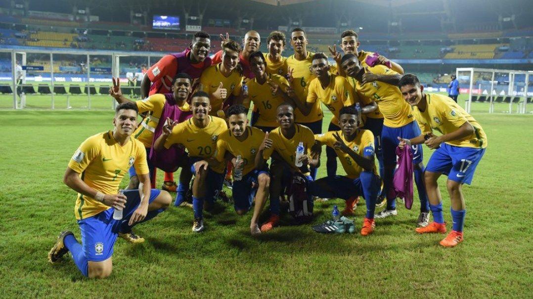 Brasil enfrenta a Inglaterra pela semifinal do Mundial Sub-17