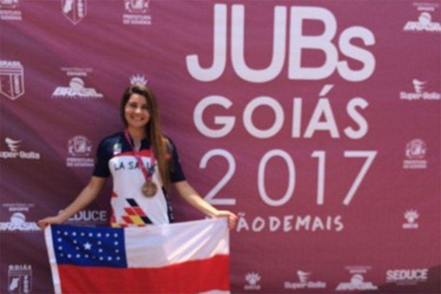 Natação do Amazonas conquista quatro medalhas de bronze no JUBs