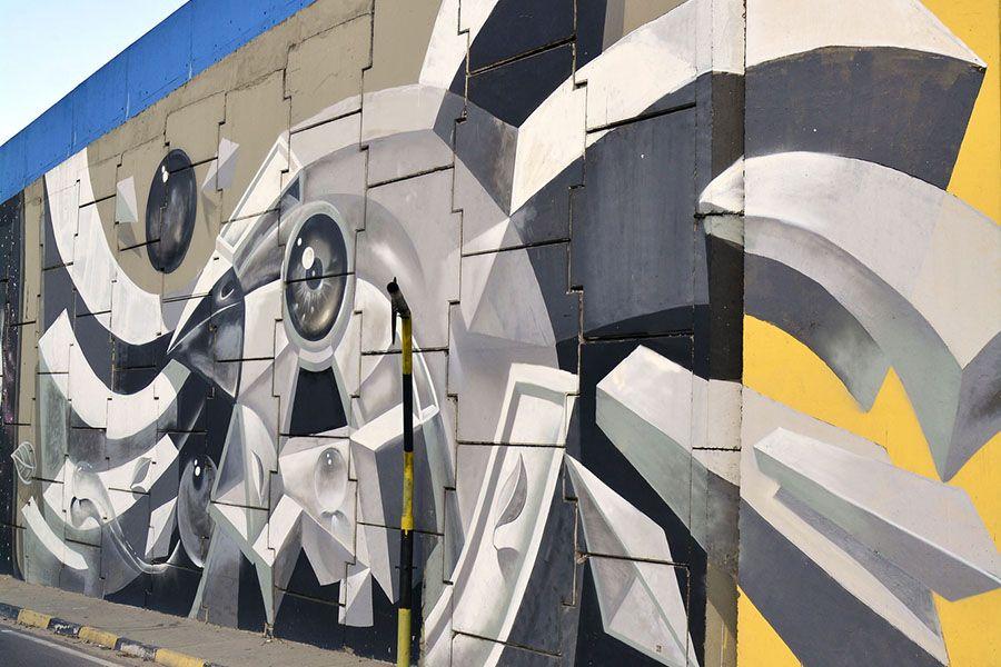 Grafiteiro do Amazonas participa de evento internacional, no Peru