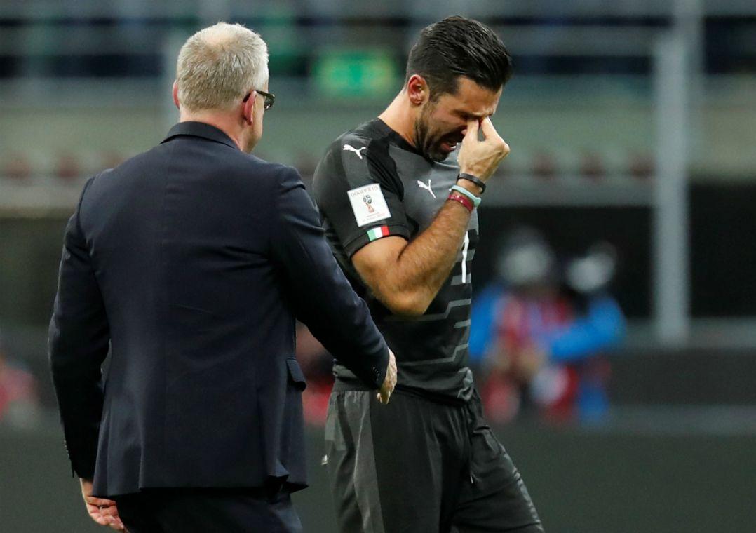 Com Buffon no gol, técnico convoca Itália para amistosos