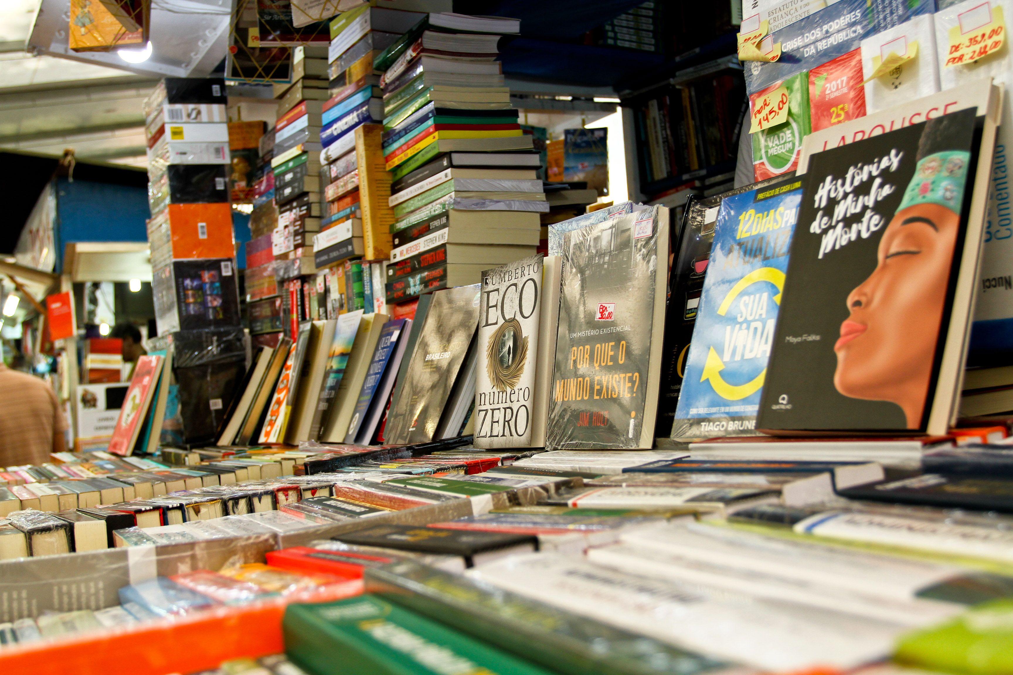 Balanço de vendas da 63ª Feira do Livro da capital é divulgado