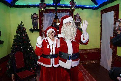 Papai Noel chega no início de dezembro em Pindamonhangaba