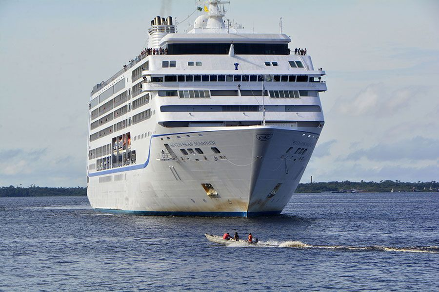 Navios trazem 3,1 mil turistas em 1 semana na Temporada de Cruzeiros