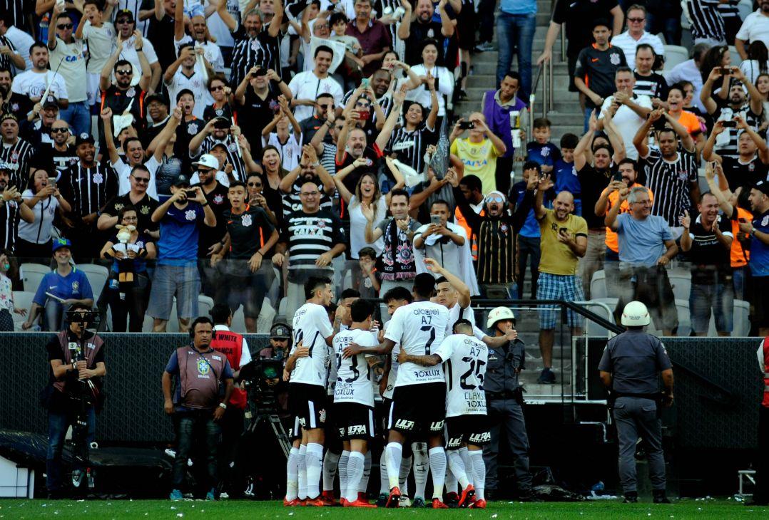 4f1bc71fea Corinthians empata com o Atlético-MG no jogo da taça - Band.com.br