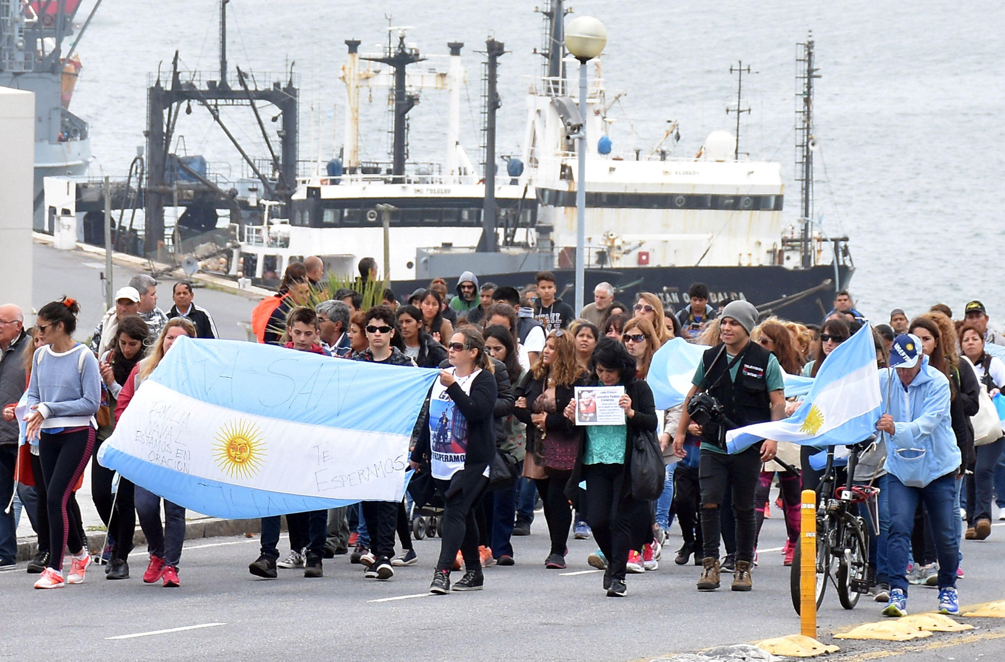 Submarino San Juan Marinha Investiga Contato A 950 Metros De
