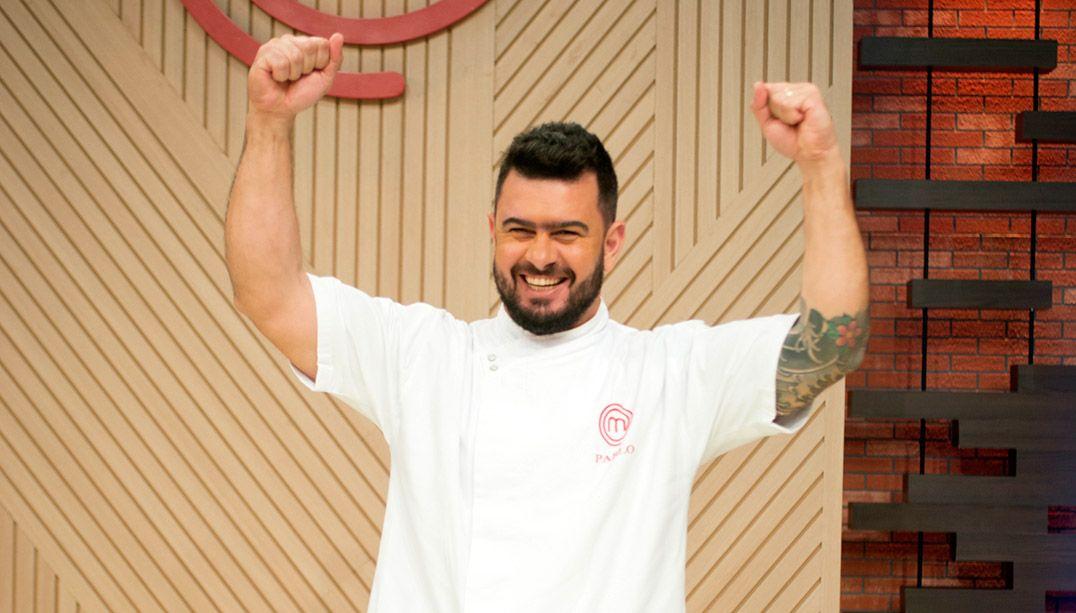Pablo é o grande campeão da 2ª temporada do MasterChef Profissionais