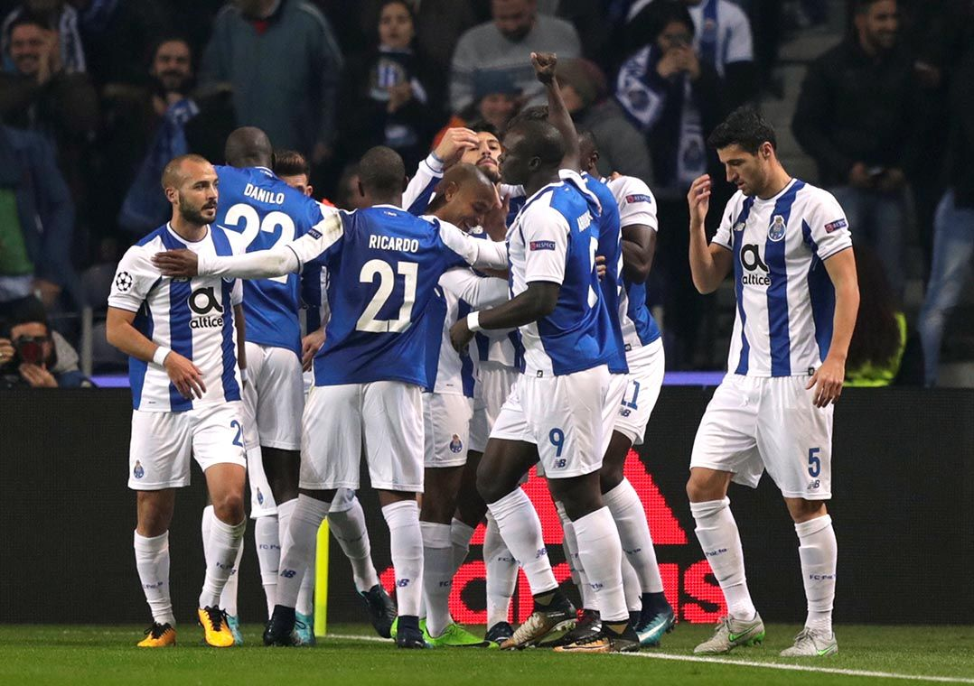 3819f85ebc Porto goleia o Monaco e se classifica às oitavas - Band.com.br