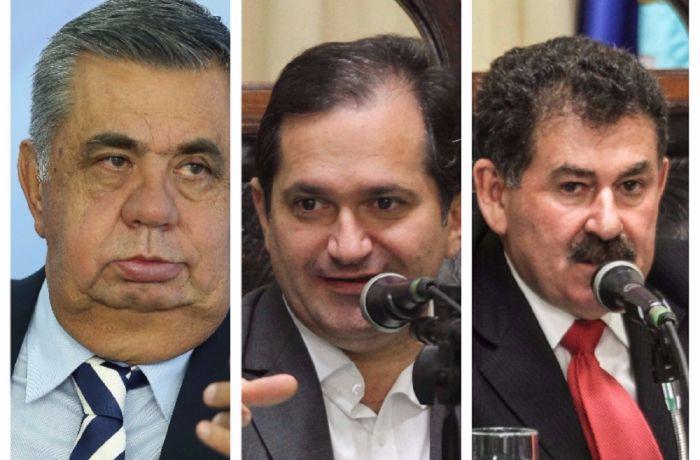 Jorge Picciani, Paulo Melo e Edson Albertassi seguem presos na Cadeia Pública de Benfica. / (Foto: Arquivo BandNews FM)