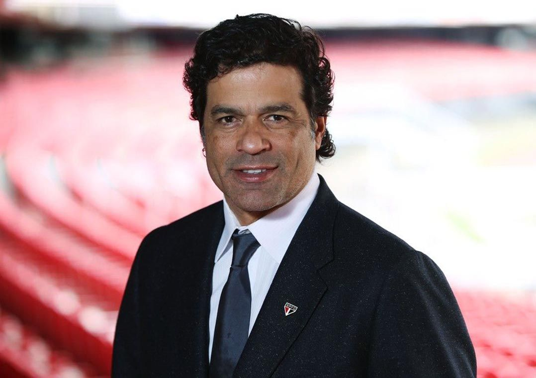 Raí, ex-jogador, ídolo e agora diretor de futebol do São Paulo / Rubens Chiri/São Paulo
