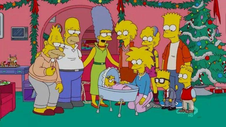 Família Simpson do futuro / Divulgação