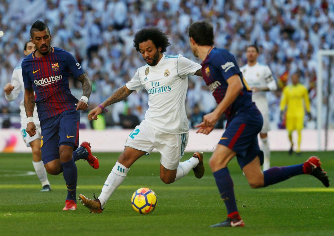Marcelo se mostra preocupado em enfrentar PSG / Paul Hanna/Reuters