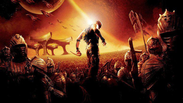 O filme em cartaz é A Batalha de Riddick / Divulgação
