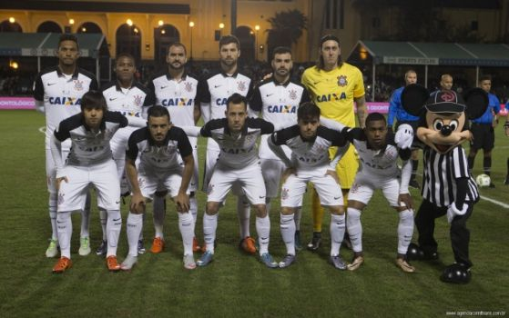 Elenco do Corinthians para o torneio / Divulgação