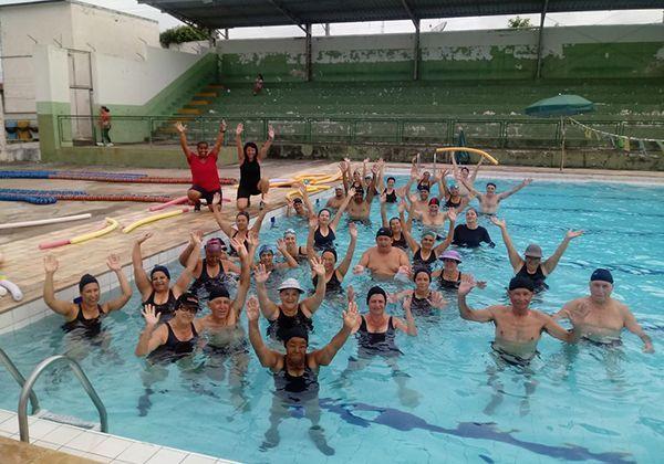 Quatro piscinas serão abertas para a população em diferentes dias na cidade / Divulgação/Prefeitura
