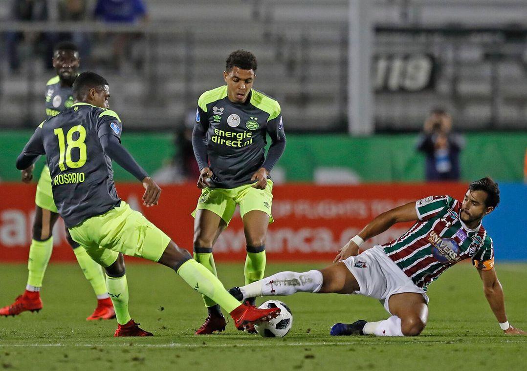 Henrique Dourado foi titular nesta sexta-feira / Divulgação/Florida Cup