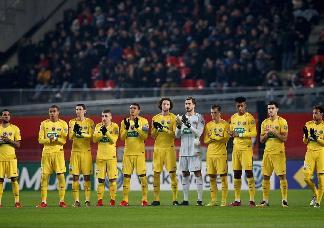 PSG enfrentará o Real Madrid pelas oitavas de final da Liga dos Campeões da Europa / REUTERS/Stephane Mahe